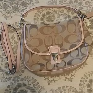 Coach purse good preloved condition not perfect